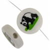 Bead Discs 19mm Panda Black & White